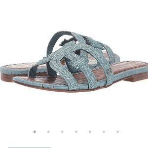 NWT Sam Edelman Beckie Woven Slide Sandal 7.5